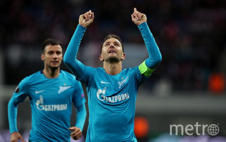 """Кришито забил единственный гол """"Зенита"""" в матче. Фото Getty"""