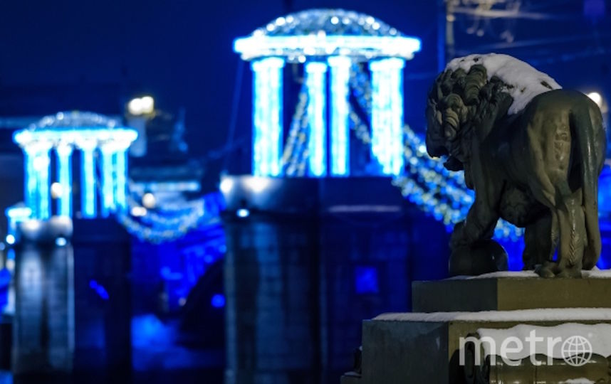 Дворцовый мост. Фото РИА Новости