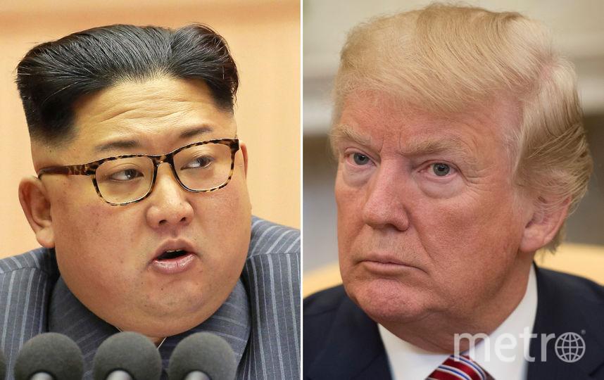 Дональд Трамп и лидер КНДР Ким Чен Ын согласились встретиться. Фото AFP