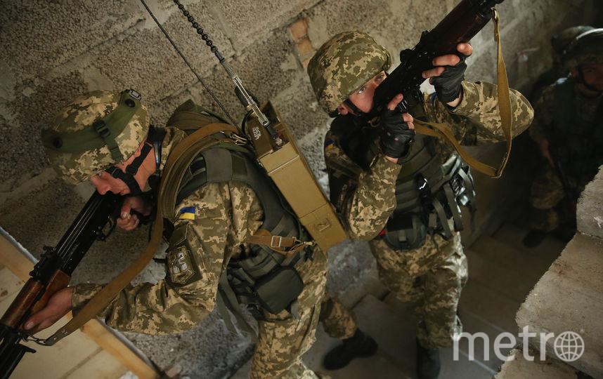 Украинские военные. Фото Getty