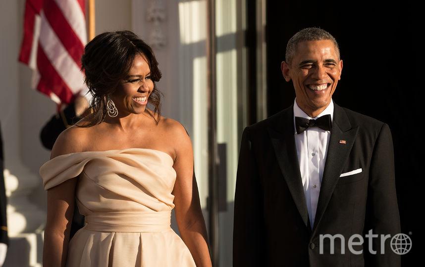 Барак Обама и его супруга Мишель. Фото Getty