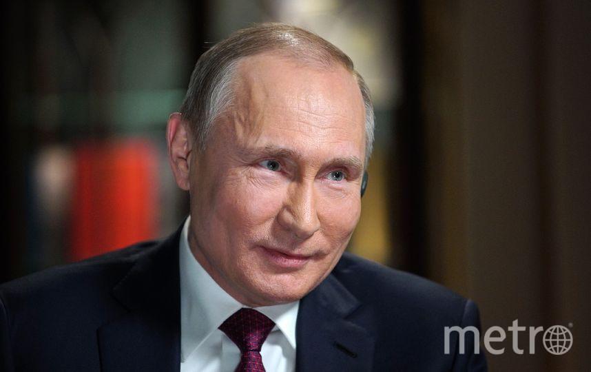 Путин дал интервью американскому каналу NBC. Фото AFP