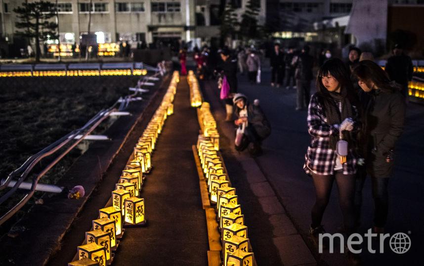 Япония почтила жертв землетрясения 2011 года минутой молчания. Фото Getty