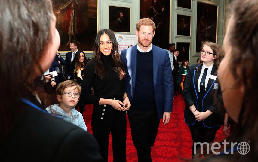 Принц Гарри и Меган Маркл, фотоархив. Фото Getty