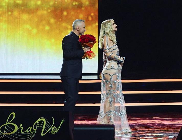 Светлана Лобода на церемонии вручения премии Bravo. Фото скриншот Instagram instagram.com/lobodaofficial/
