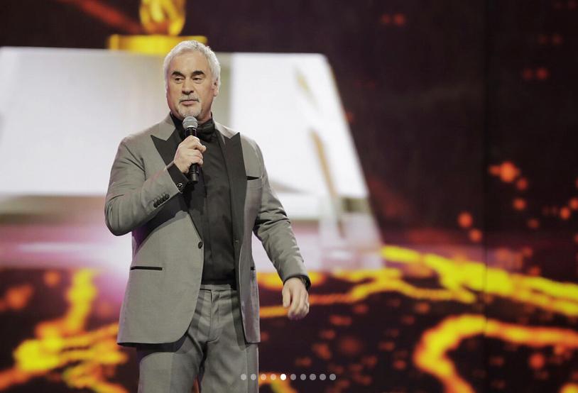 Валерий Меладзе на премии Bravo. Фото скриншот Instagram
