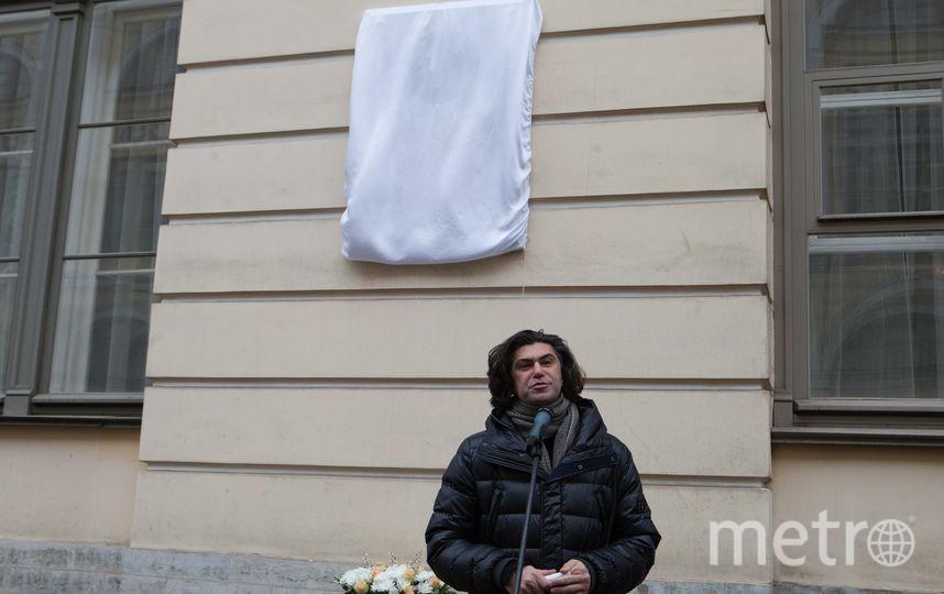 В Петербурге открыли мемориальную доску Мариусу Петипа. Фото все - Святослав Акимов.