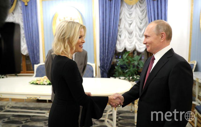 Владимир Путин дважды встречался с репортёром NBC. Фото kremlin.ru