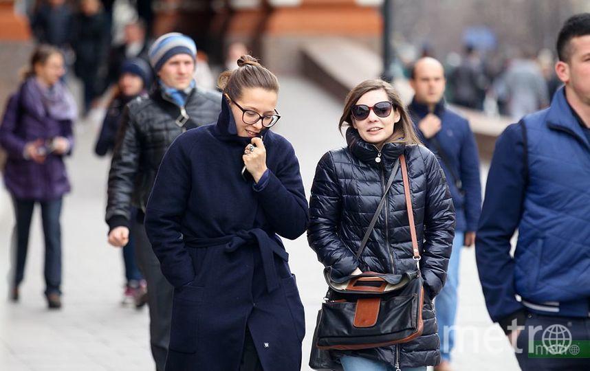 В Москве днём 12 марта ожидается плюсовая температура. Фото Василий Кузьмичёнок