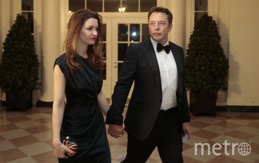 Изобретать Илон Маск с бывшей женой Талулой Райли. Фото Getty