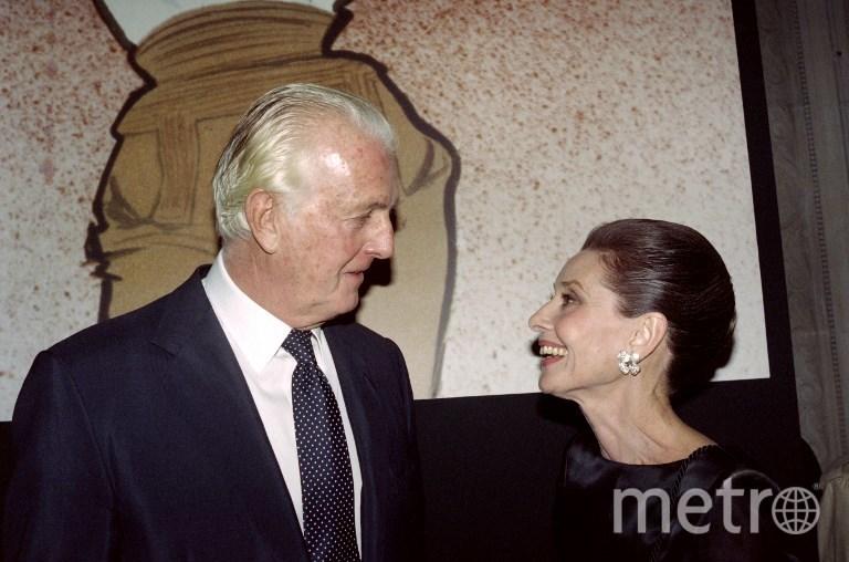 Юбер де Живанши и Одри Хепбёрн. Фото AFP