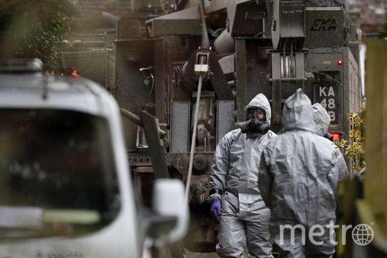 Место нападения на Сергея и Юлию Скрипаль. Фото AFP