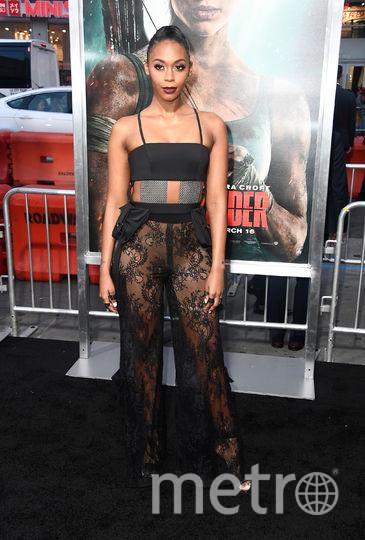 """Премьера нового фильма """"Tomb Raider: Лара Крофт"""". Нафесса Уильямс. Фото Getty"""