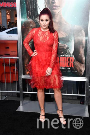 """Премьера нового фильма """"Tomb Raider: Лара Крофт"""". Эрин Робинсон. Фото Getty"""