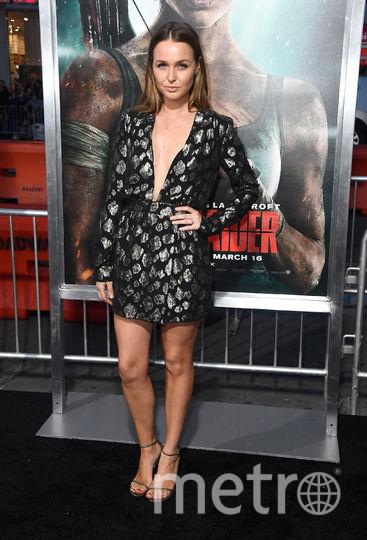 """Премьера нового фильма """"Tomb Raider: Лара Крофт"""". Камилла Ладдингтон. Фото Getty"""