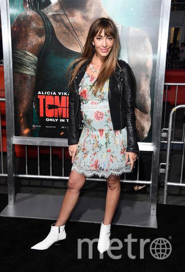 "Премьера нового фильма ""Tomb Raider: Лара Крофт"". Фернанда Ромеро. Фото Getty"