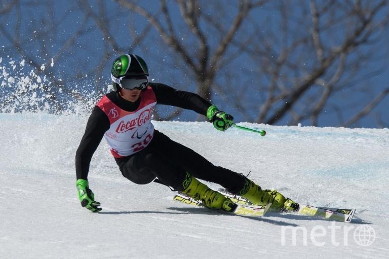 Российский лыжник Алексей Бугаев. Фото AFP