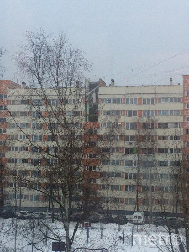 В жилом доме в Петербурге произошел взрыв.