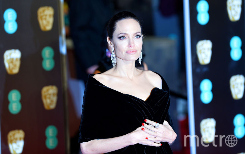 Анджелина Джоли. Февраль 2018. Фото Getty