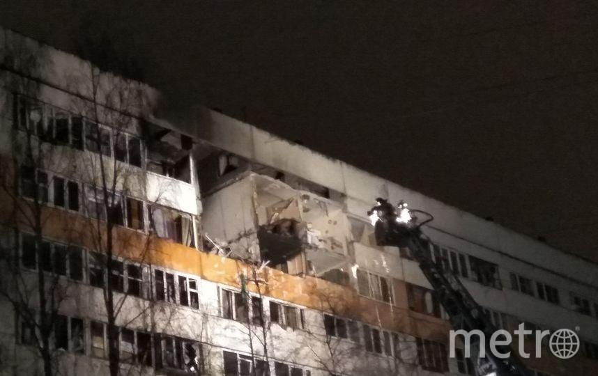 Взрыв в жилом доме Петербурга - фотоархив.