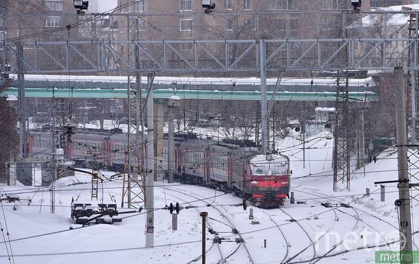 Движение электричек на Ярославском направлении МЖД задерживается из-за травмирования человека. Фото Василий Кузьмичёнок