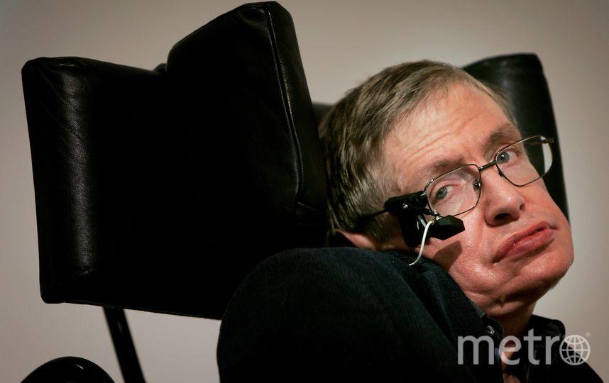Cтивен Хокинг. Фото Getty