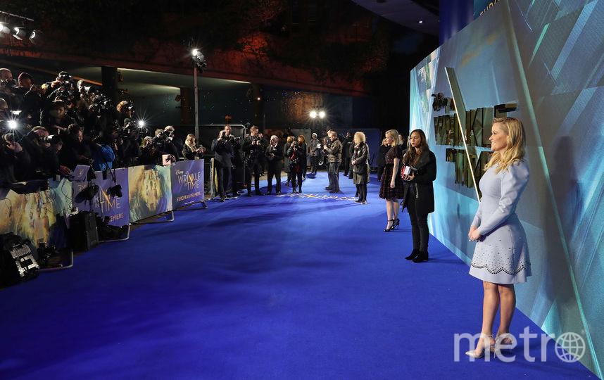 "Риз Уизерспун на премьере фильма ""Излом времени"". Фото Getty"