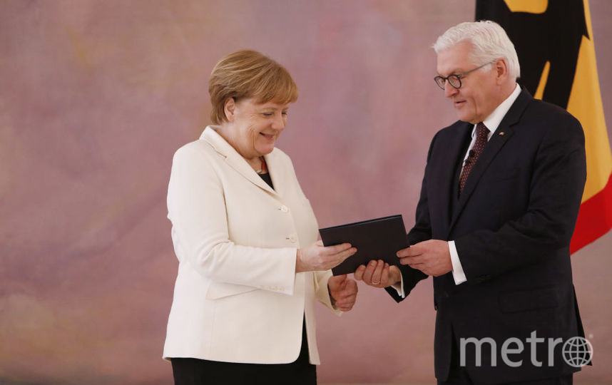 Ангела Меркель и Франк-Вальтер Штайнмайер. Фото Getty