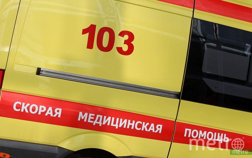 Глыба льда упала на балерину в центре Москвы. Фото Василий Кузьмичёнок