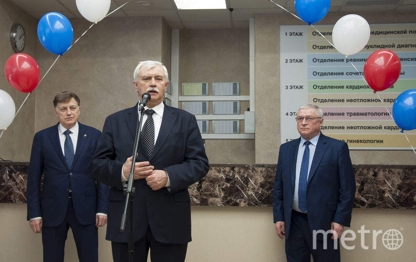 Открытие нового корпуса готовилось в тесном взаимодействии с врачами Мариинской больницы.