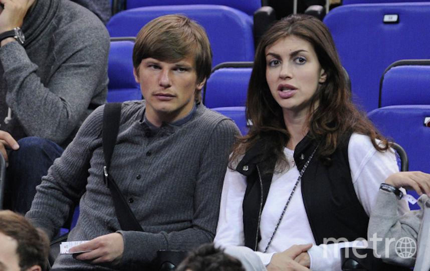 Аршавин и его супруга. Фото РИА Новости