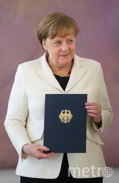 Ангела Меркель в четвёртый раз стала канцлером ФРГ. Фото AFP