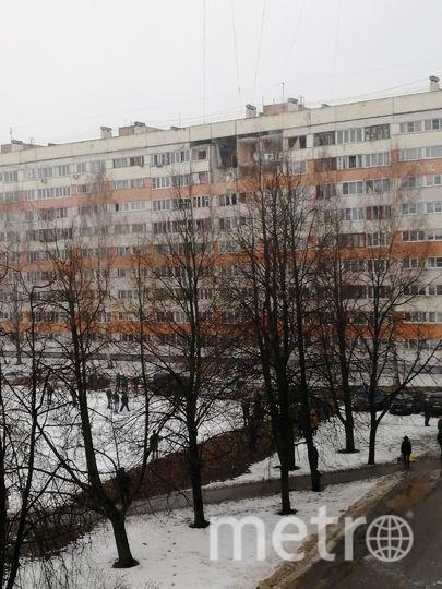 Дом № 219 на проспекте Народного Ополчения. Фото vk.com/spb_today
