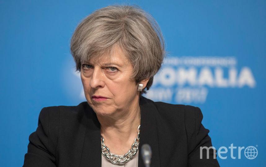 Премьер-министр Великобиратнии Тереза Мэй. Фото Getty