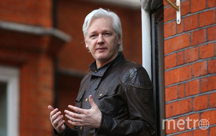 Создатель WikiLeaks Джулиан Ассанж. Фото Getty
