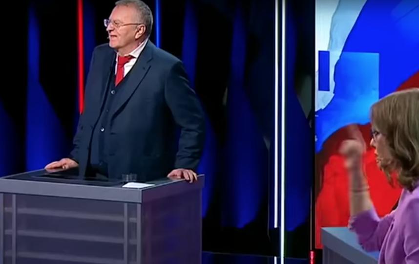 Владимир Жириновский. Фото Скриншот Youtube
