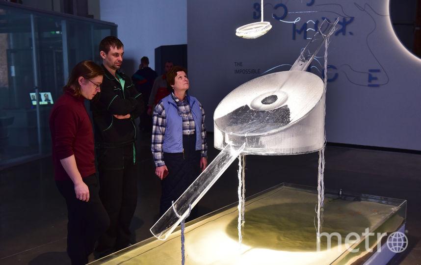 Объект «Точка росы» опресняет воду с помощью линзы и света. Фото Василий Кузьмичёнок