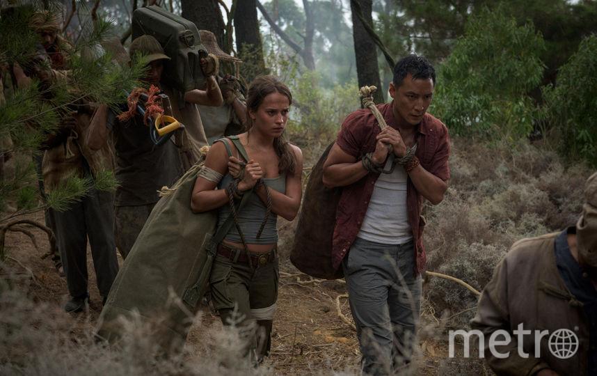 """Кадр из фильма """"Tomb Raider: Лара Крофт"""". Фото kinopoisk.ru"""