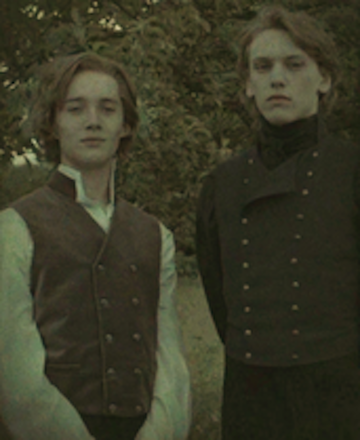 Дамблдор и Грин-де-Вальд в молодости. Фото harrypotter.wikia.com, Warner Bros.