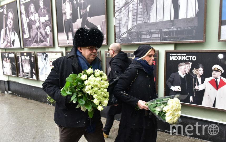 Прощание с Табаковым. Фото Василий Кузьмичёнок