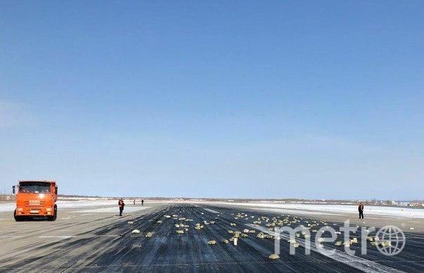 Сломавшийся самолет выбросил на Якутск тонны золота: Реакция в Сети. Фото vk.com