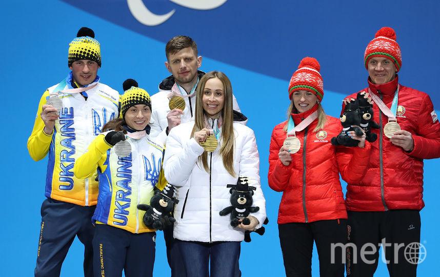 Михалина Лысова (в центре). Фото Getty