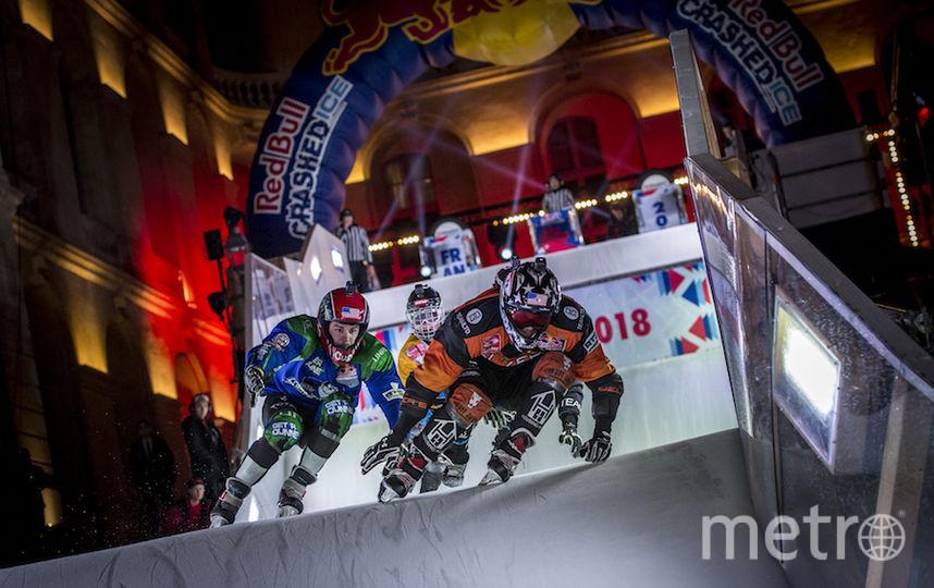 Лидируют в скоростном спуске на коньках североамериканцы и некоторые европейцы. Фото redbullcontentpool.com