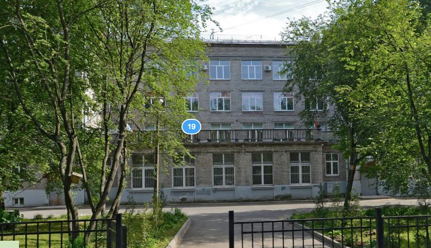 Школа. Фото скриншот Яндекс.Панорамы