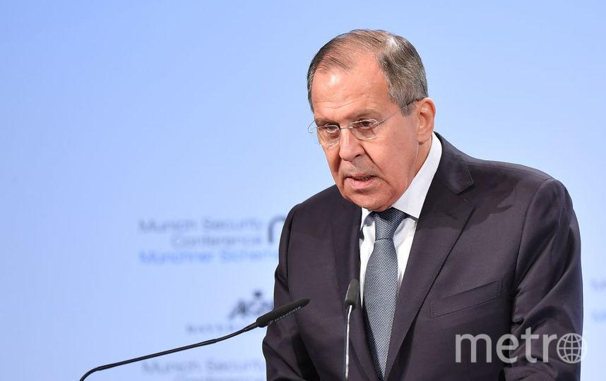 Министр иностранных дел России Сергей Лавров. Фото Getty