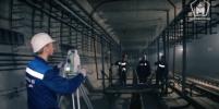 В Петербурге тестируют тоннель к новым станциям метро. Видео