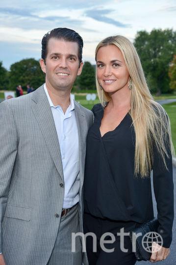 Дональд Трамп-младший с женой Ванессой. Фото Getty