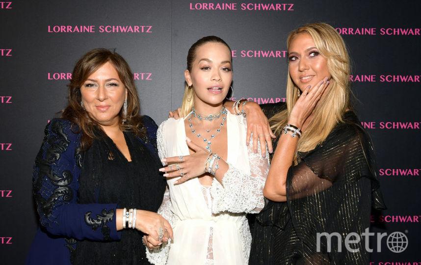 Лоррейн Шварц, Рита Ора и Офира Сандберг на вечеринке. Фото Getty