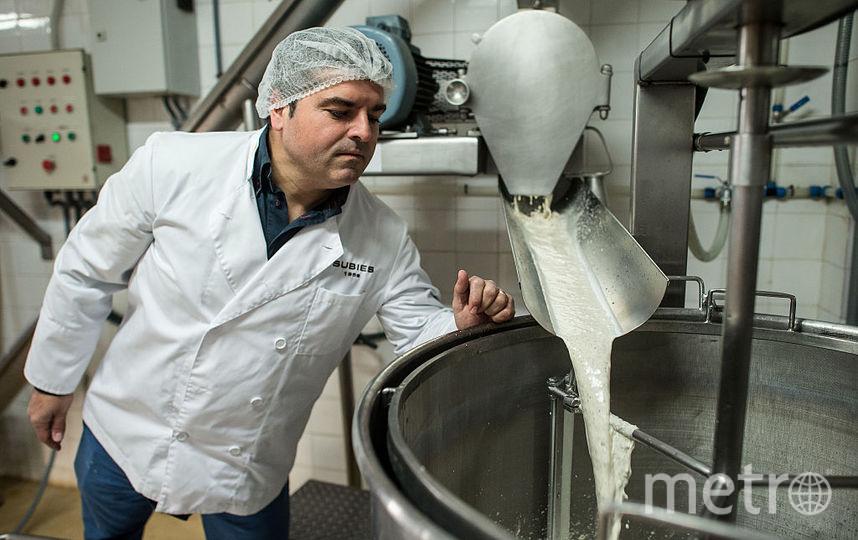 Производство молока. Фото Getty