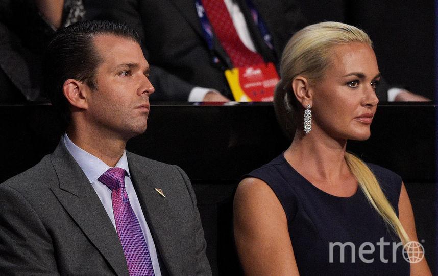 Ванесса и Дональд Трамп. Фото Getty